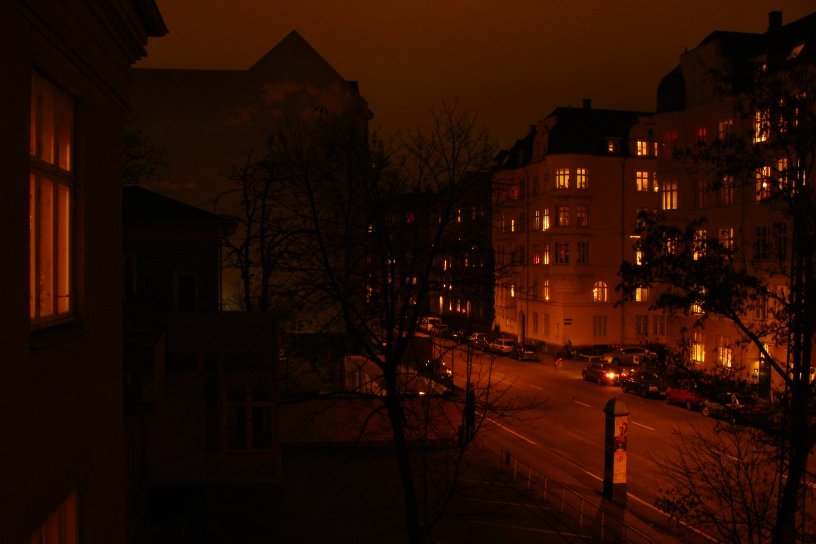 A quiet neighbourhood, Copenhagen, Denmark