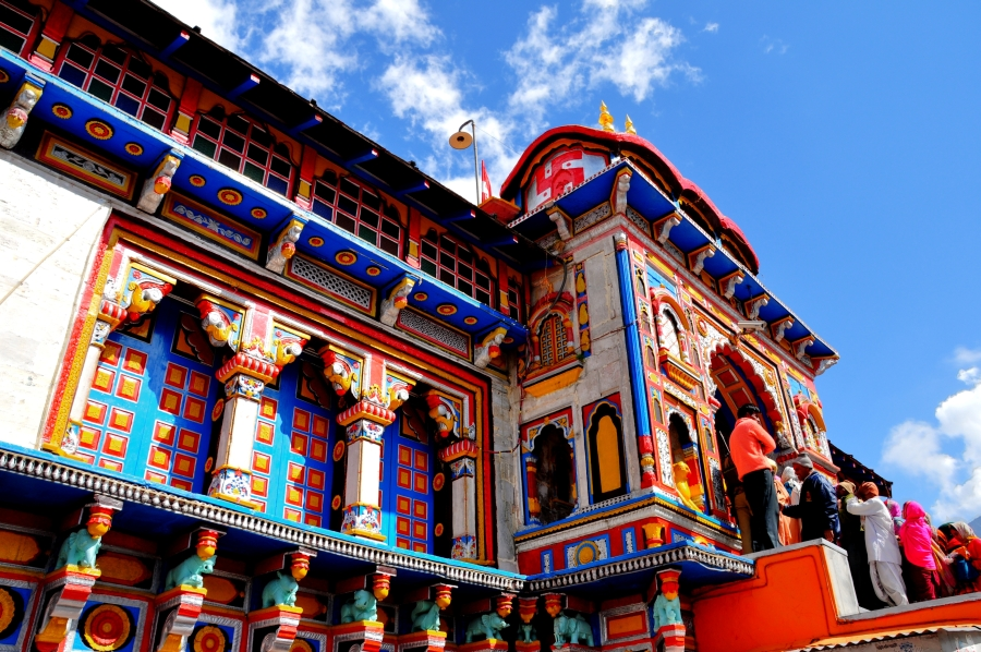 The Main Temple at badrinath