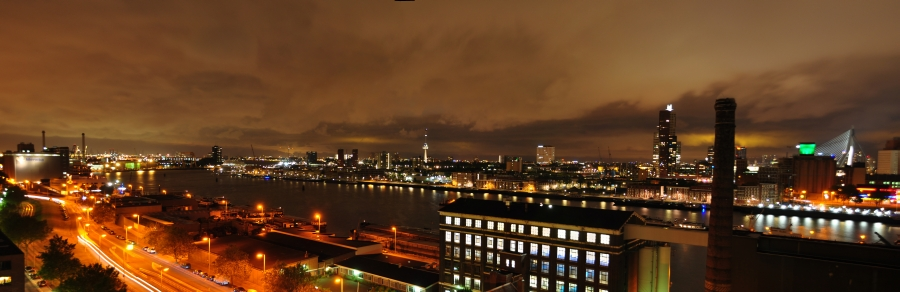 Rotterdam Night View
