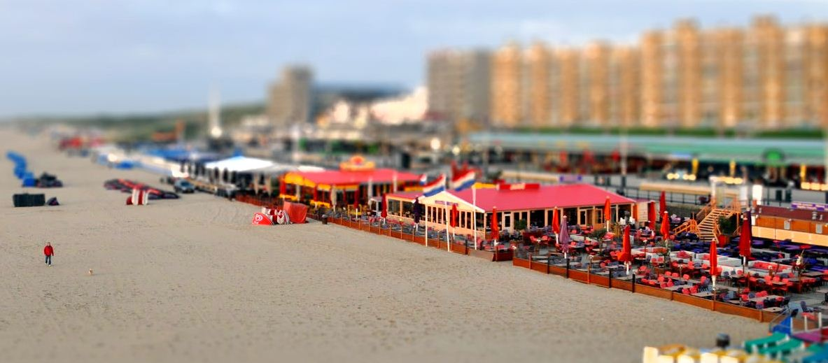Miniature Beach Town
